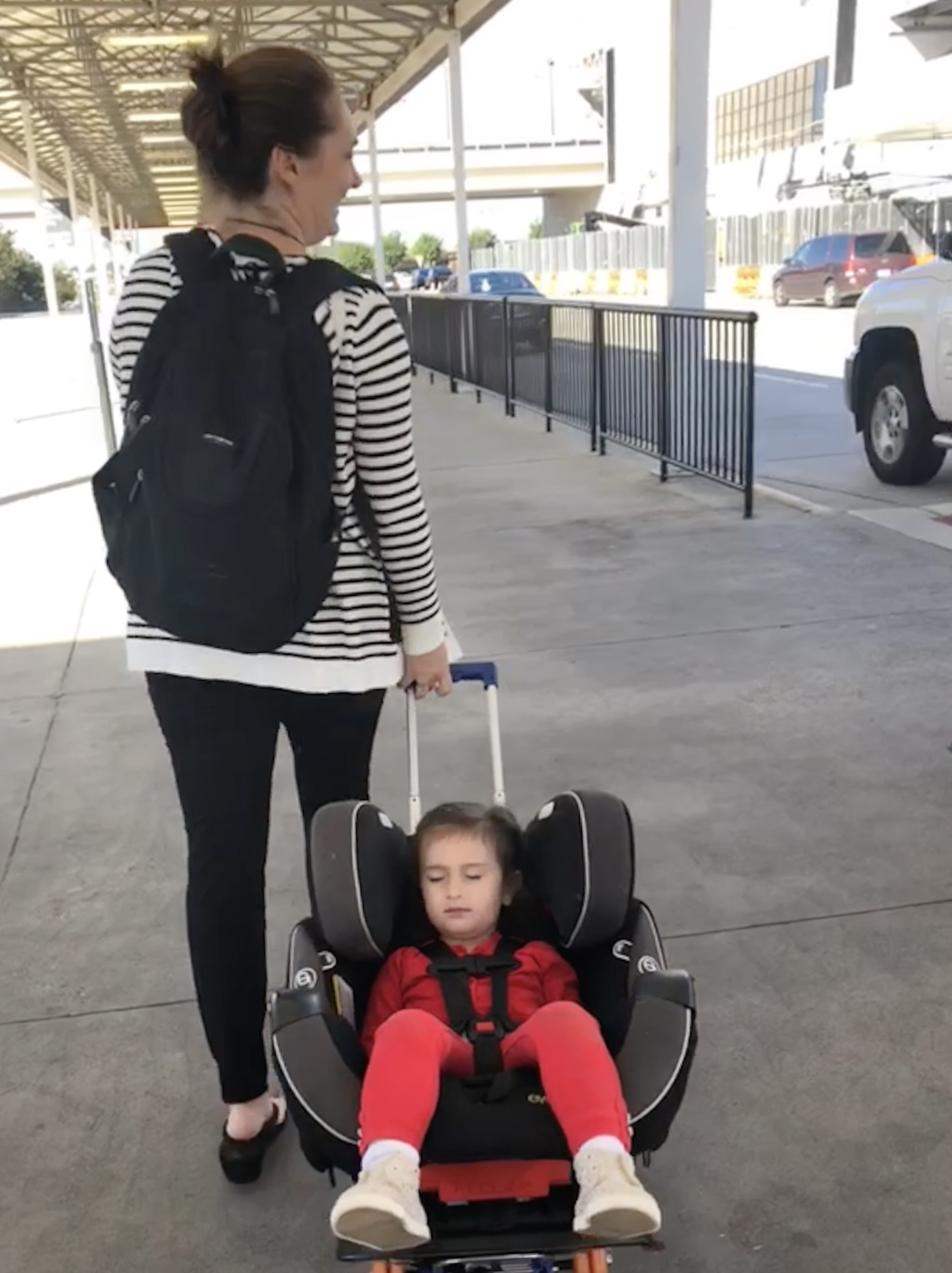 Solo Work Travel with Toddler